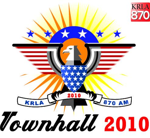 KRLA 870 AM – Townhall 2010 Logo