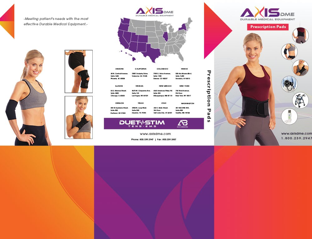 Axis DME – Presentation Folder
